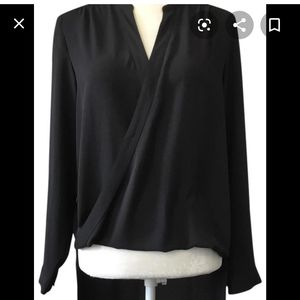 Blouse with high low bottom
